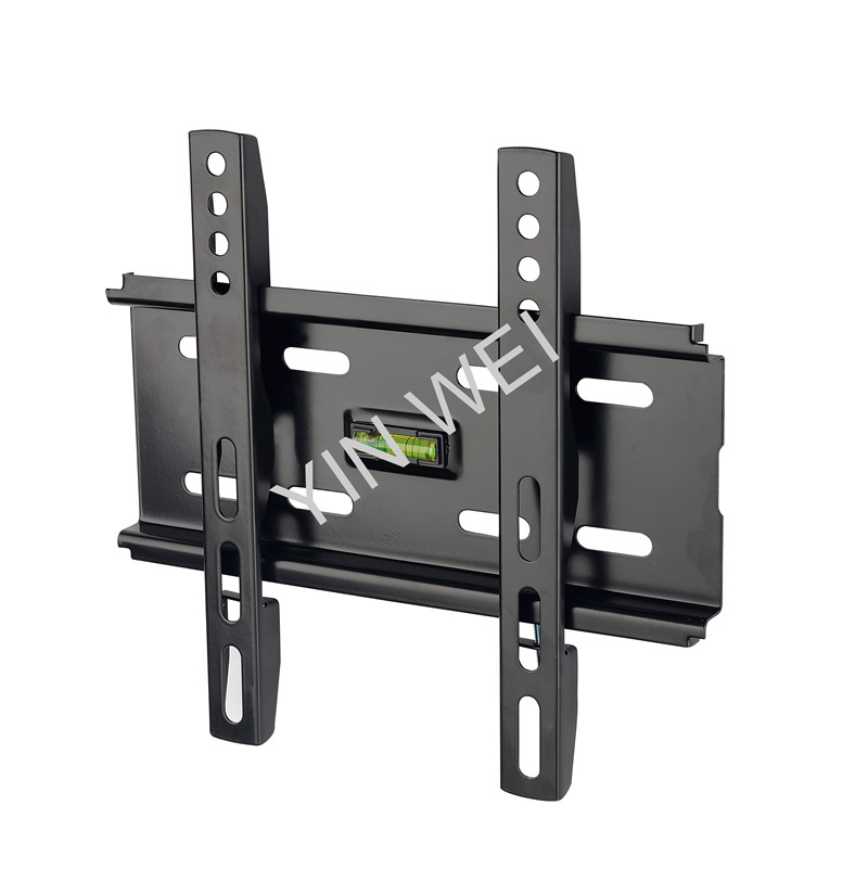 Universal TV wall mount for 10'' to 42'', low profile TV bracket