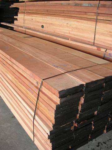 Red Meranti & Merbau & Teak sawn timber