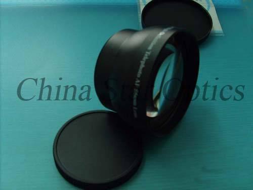 BK7 glass telephoto lens
