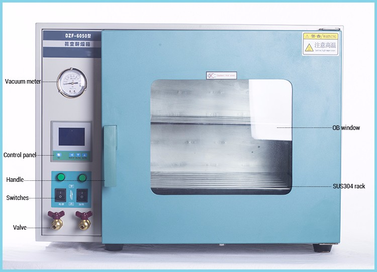Precision Vacuum Drying Oven for Laboratory Test