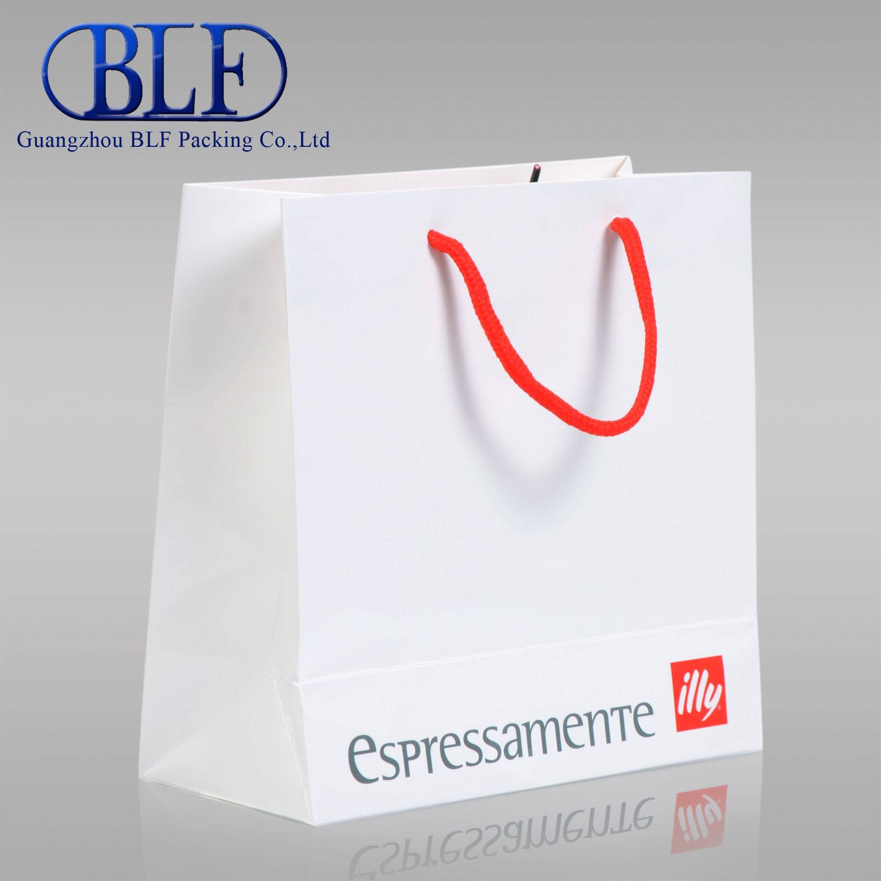 Paper bags with handles wholesale(BLF-PB026)
