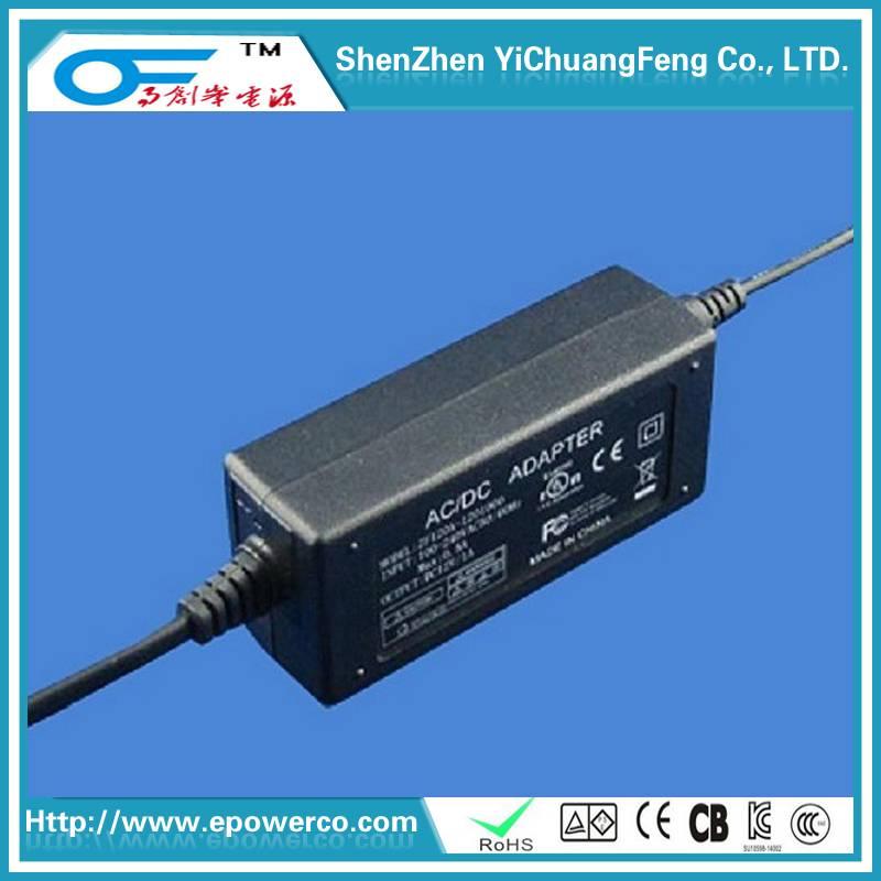 Desktop Power Supply 24V5A/12V9.5A/36V4A/24V6A International CB/Germany GS/UL FCC Quality power adap