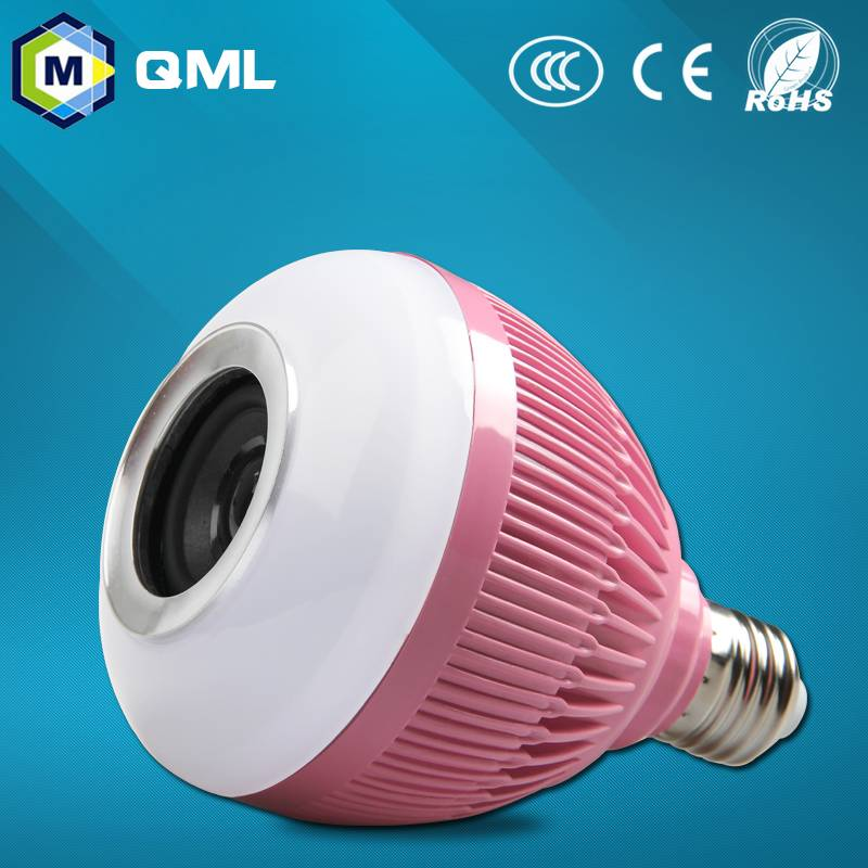 Smart multi new product colored led music bulbs 2016