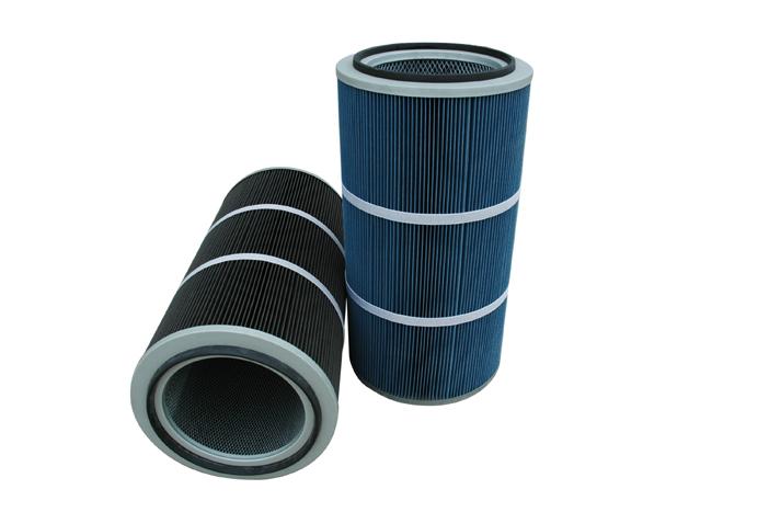 Nano fiber cartridge filter for air purifying