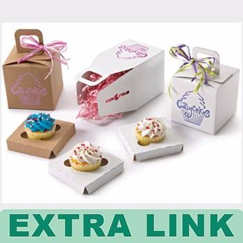 High Quality Handmade Recyclable Decorative Food Cake Box