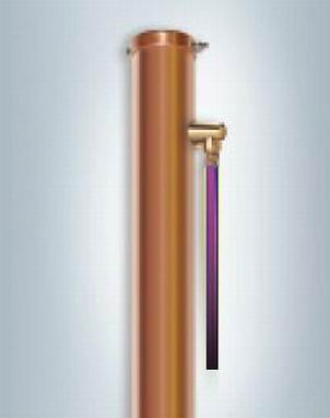 Chemical copper ground rod