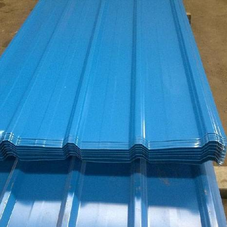 color coated roofing