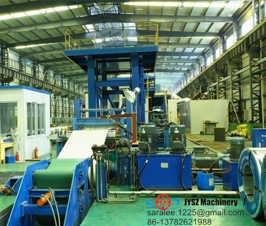 steel coil color coating line