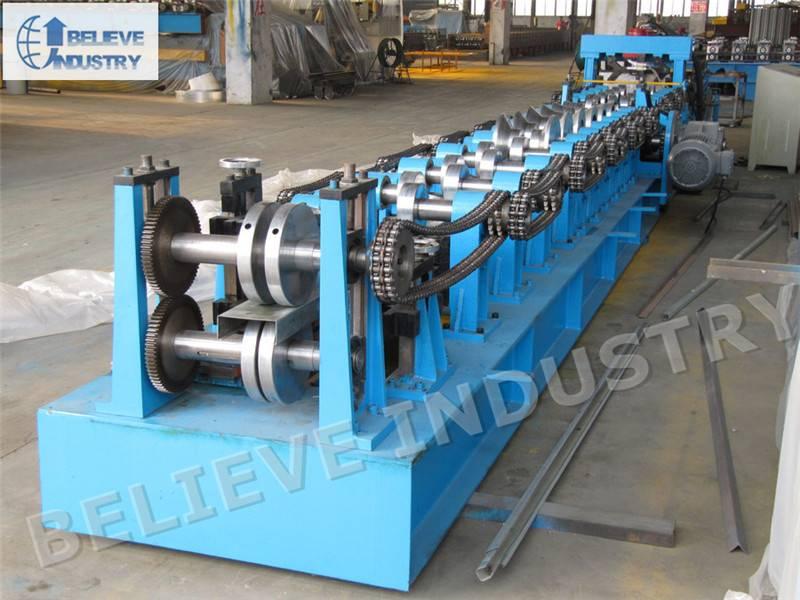80-300 C/Z Purlin Interchangeable Roll Forming Machine