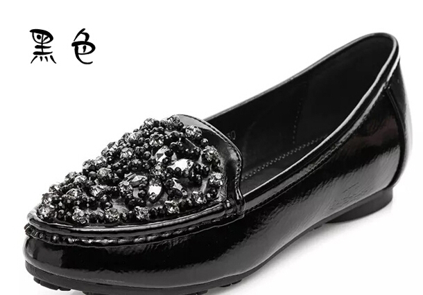The new single shoes for women's shoes fashion diamond han edition 3313 comfortable big yards f