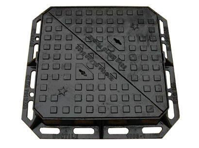 Casting iron manhole cover
