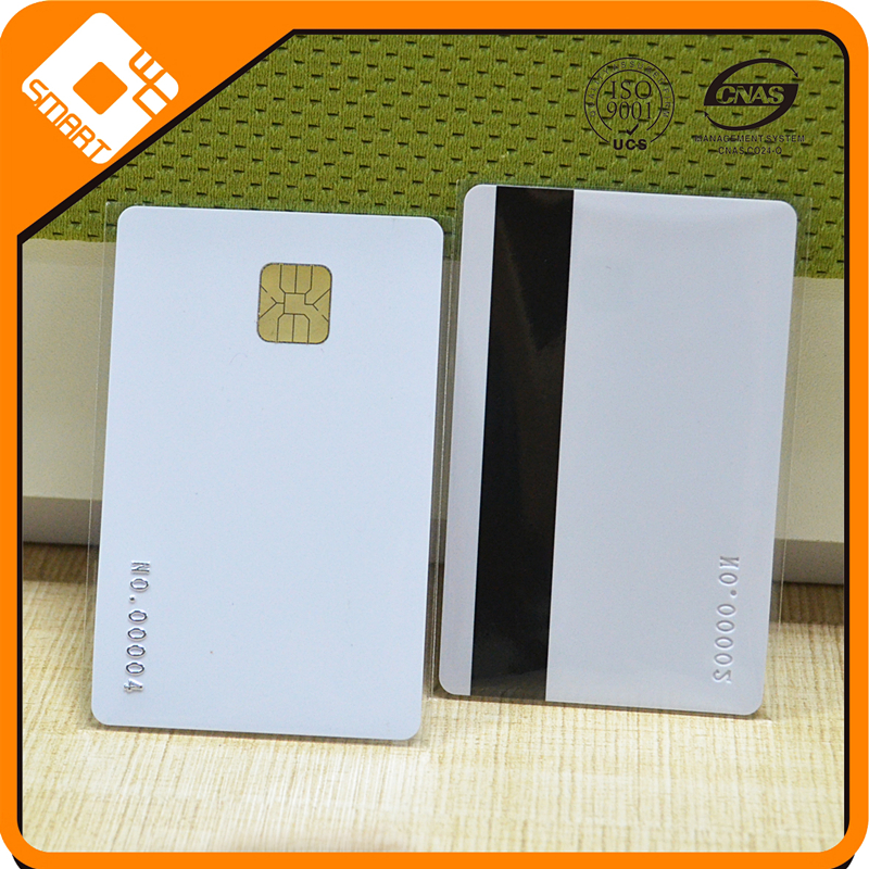Credit Card Size Blank Magnetic Stripe Card/Rfid PVC Card/Chip Card