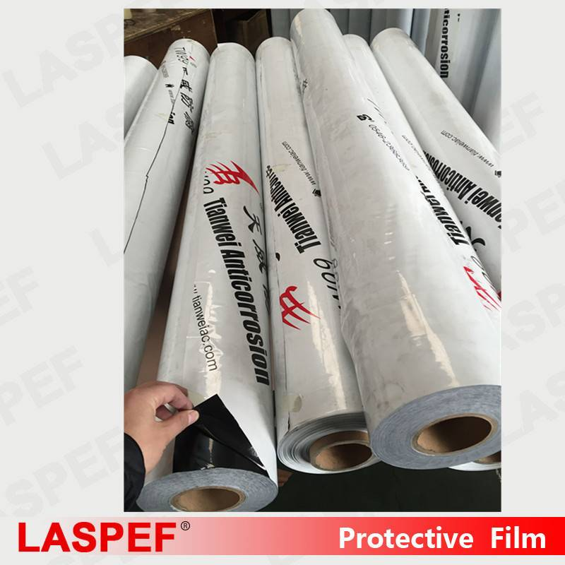 Black&white Protective film for Aluminum sheets Adhesive and Anti-Scratch film
