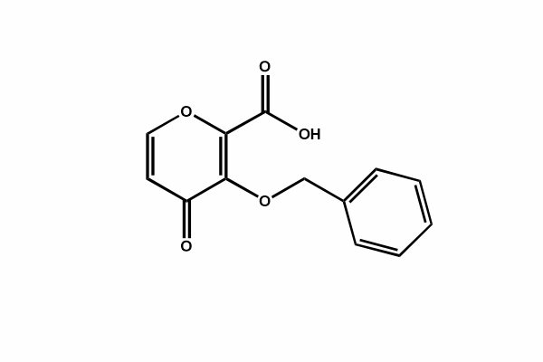 3-(Benzyloxy)-4-oxo-4h-pyran-2-carboxylic acid
