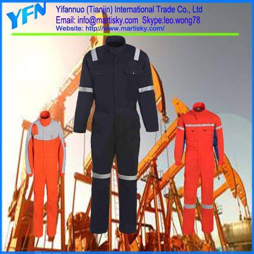 Safety Workwear Flame-retardant Reflective Work Uniforms