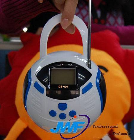 New Mini Ball FM Speaker With Handle For MP3/MP4 Player