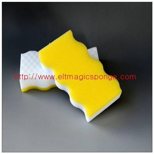 High Density Wavy Magic Sponge Block From China Workshop