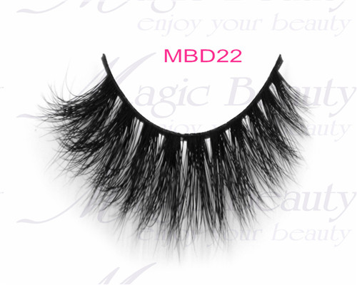 Real Siberian 3D Mink Fur Lashes MBD22 with Cruelty-free
