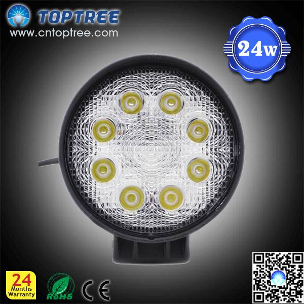 "4"" 27W 9-32V Round LED Work Light,hot sale"