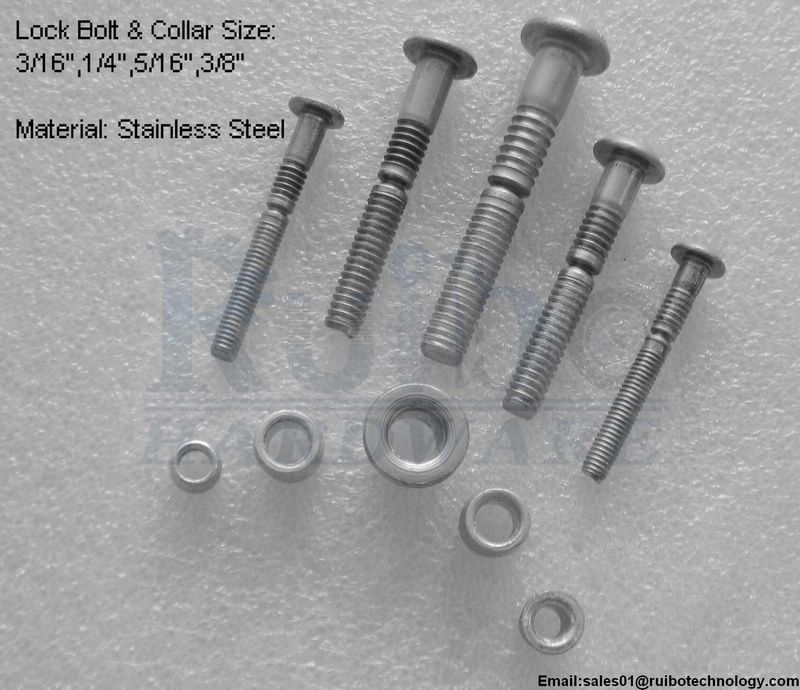 304 stainless steel rivet lock pins