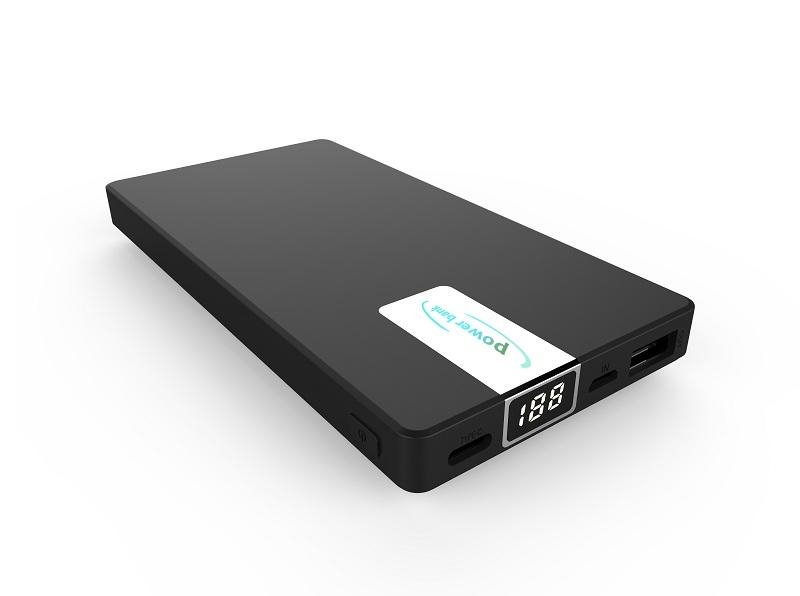 New PD powerbank 10000mAh with backlight ,LCD display