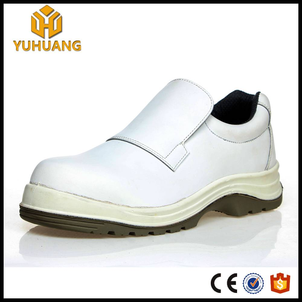 China manufaturer genuine leather bakery worker safety shoes