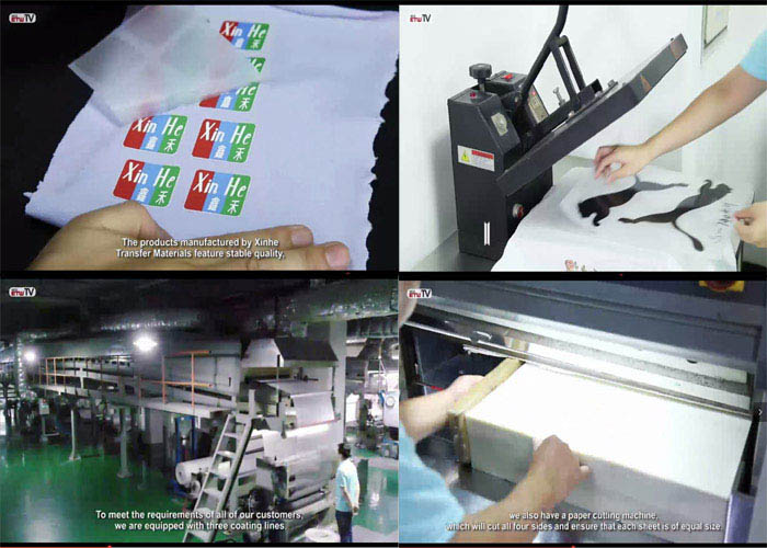 Best China Factory Supplier-Cheap Cold Peel Gloss Heat Transfer PET Film For Tagless Heat Transfers