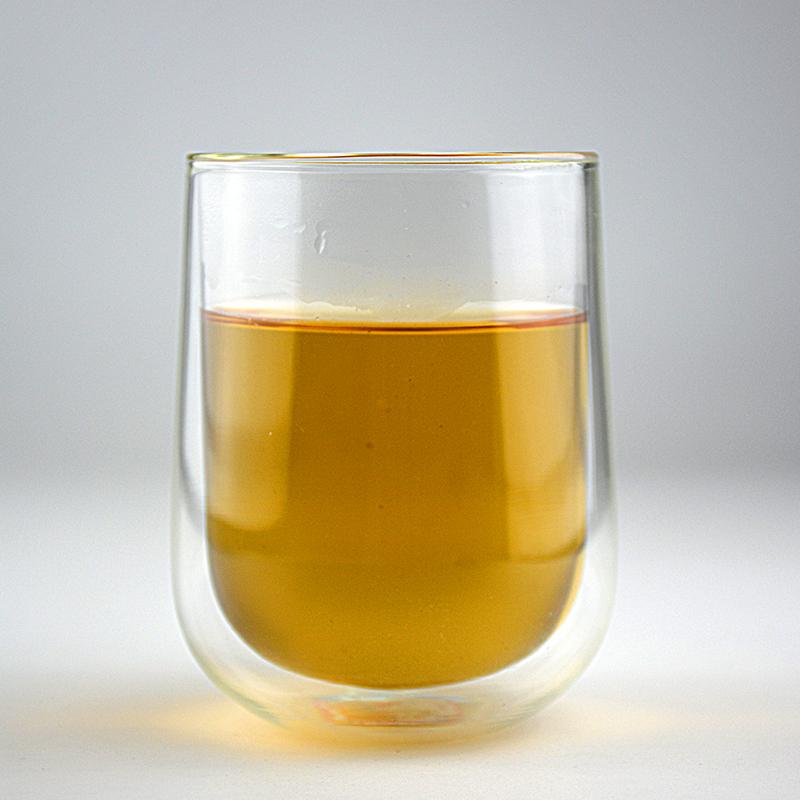 HOT 12 oz mouth-blown double wall borosilicate Glass Cups mug