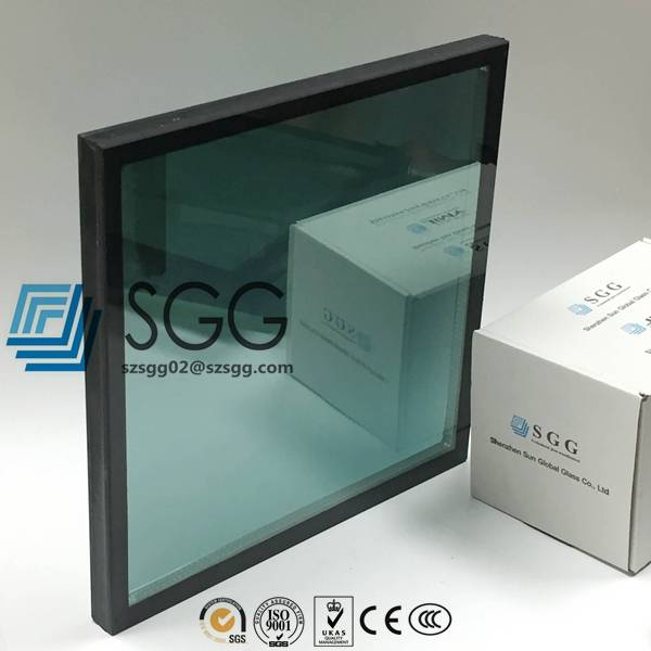 5mm+5mm 6mm+6mm Bronze Gray Green Blue Tinted tempered insulated glass
