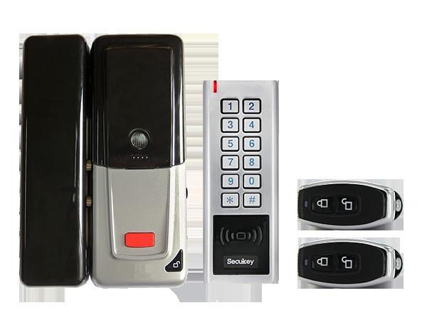 Hot Sale Keyless Entry Home Door Lock Anti-vandal Wireless Smart Lock