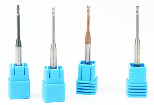 Customized Tungsten Carbide 4 Flutes Micro cutting endmills