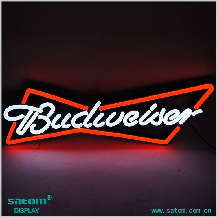 13 Years Experience Professional Budweiser Custom LED Bar Neon Sign Manufacturer In China