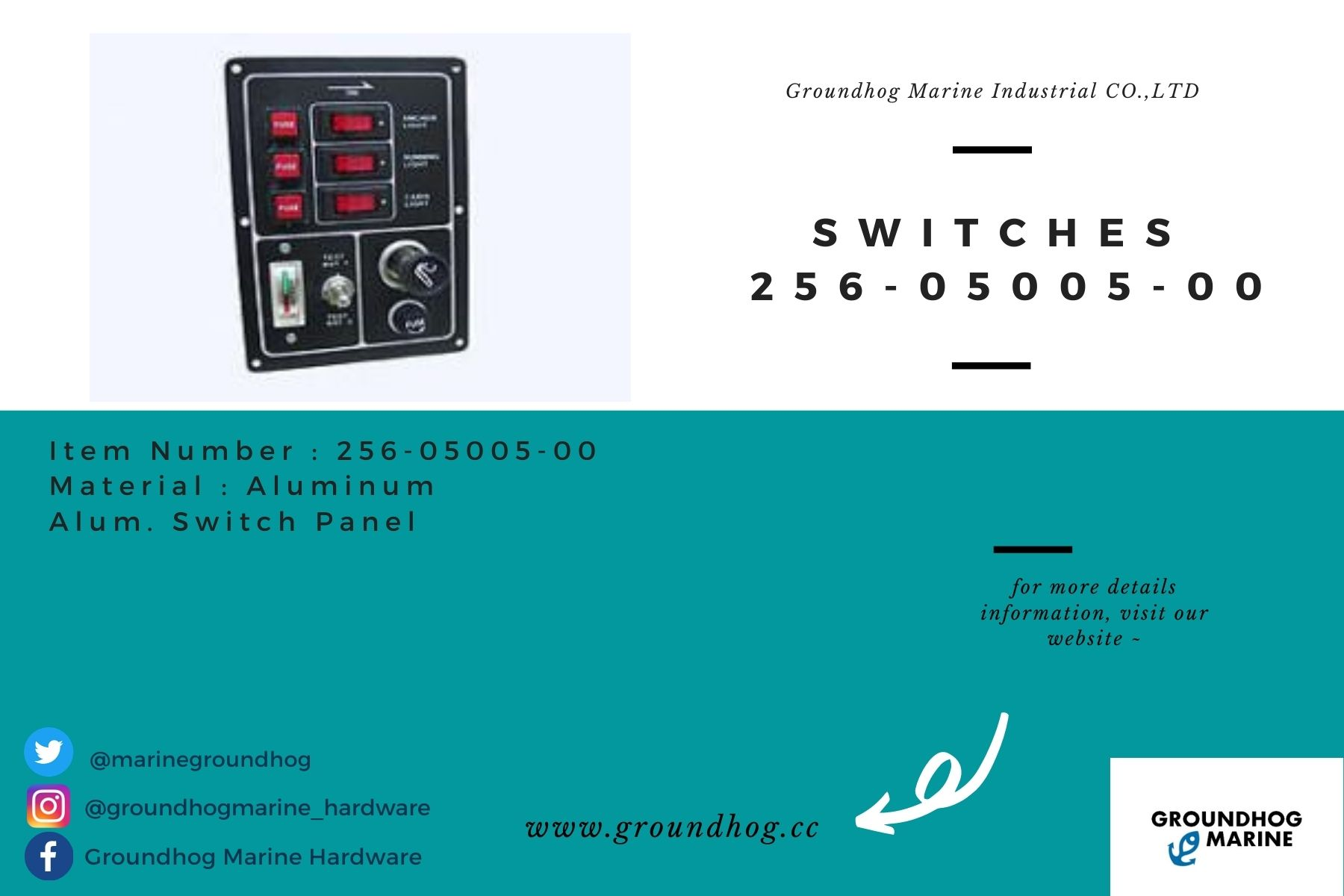 Switches 256-05005-00