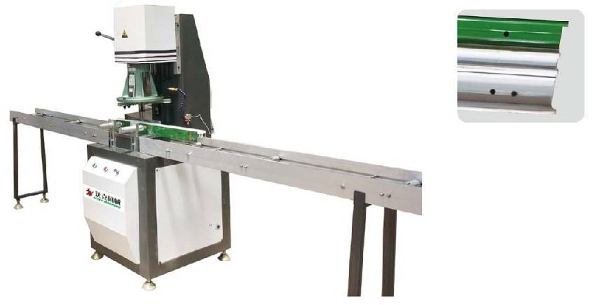 Single axis multi-head drilling machine