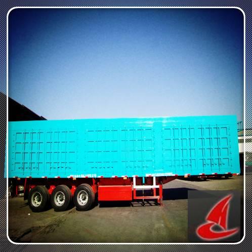 China tri-axle van semi-trailer