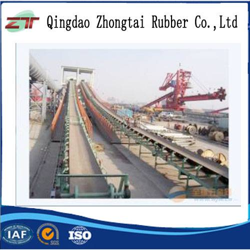 Acid/alkali Resistant Steel Cord Conveyor Belt Used in wharf