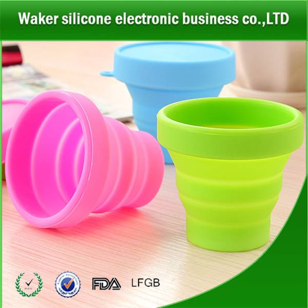 silicone outdoor use water cup