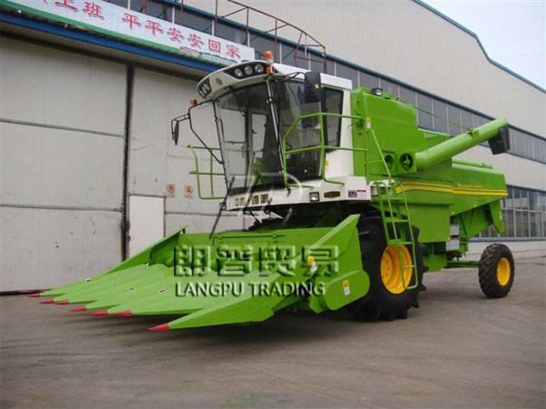 4YZ-6 G60 Self Propelled Corn Combine Harvester