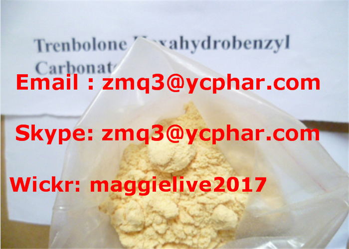 China Supply Top Sell Trenbolone Hexahydrobenzyl Carbonate Powder CAS: 23454-33-3