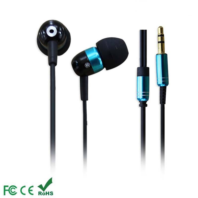 Galaxy fashion metal shell earphones