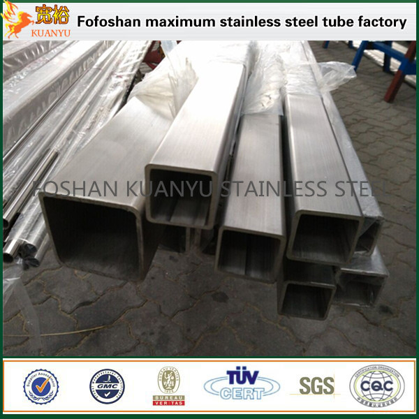 wholesale foshan stainless steel rectangular pipe