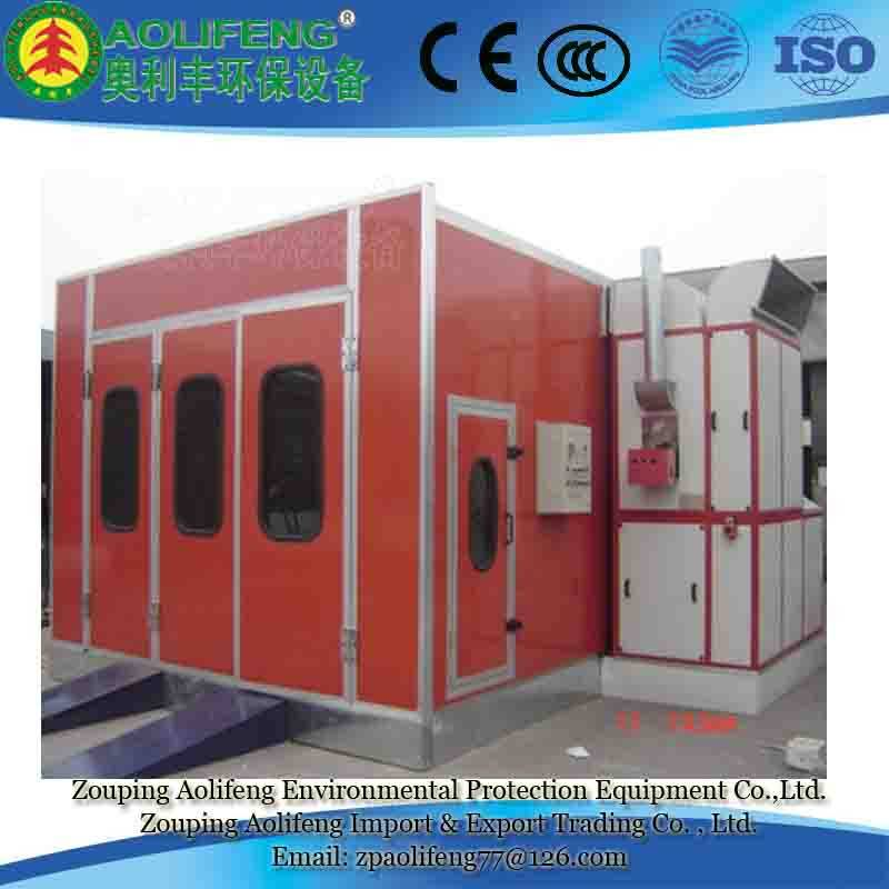 Automotive Spray Booth Painting Oven Chamber Used in Bodyshops