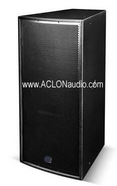 """Dual 15"""" 800W Full Range Speaker (AP215)"""