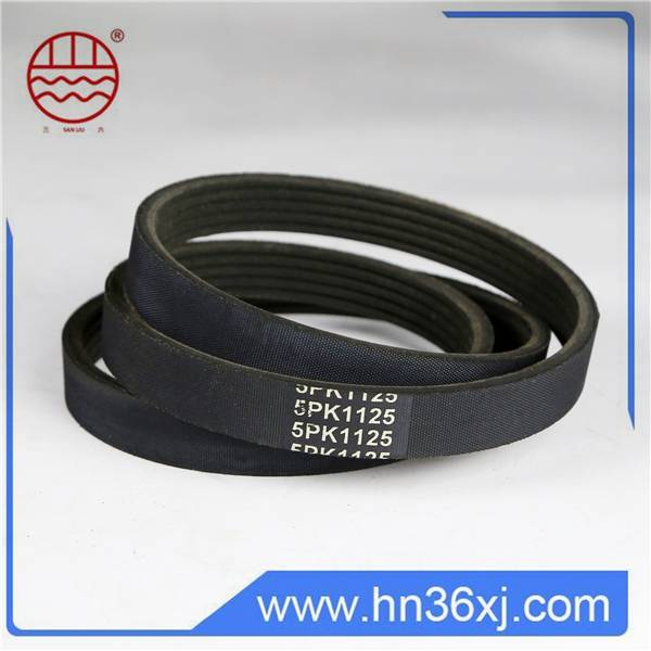 Strong Durability Nature Rubber V-Ribbed Belt