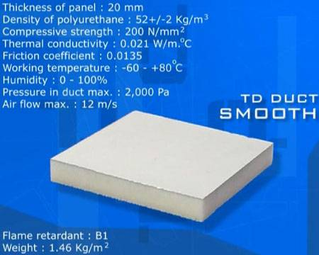 PU Panel with One Side Smooth