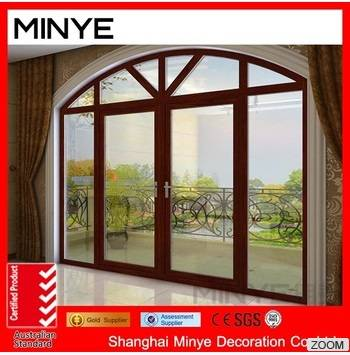 double glazed sliding door aluminum door
