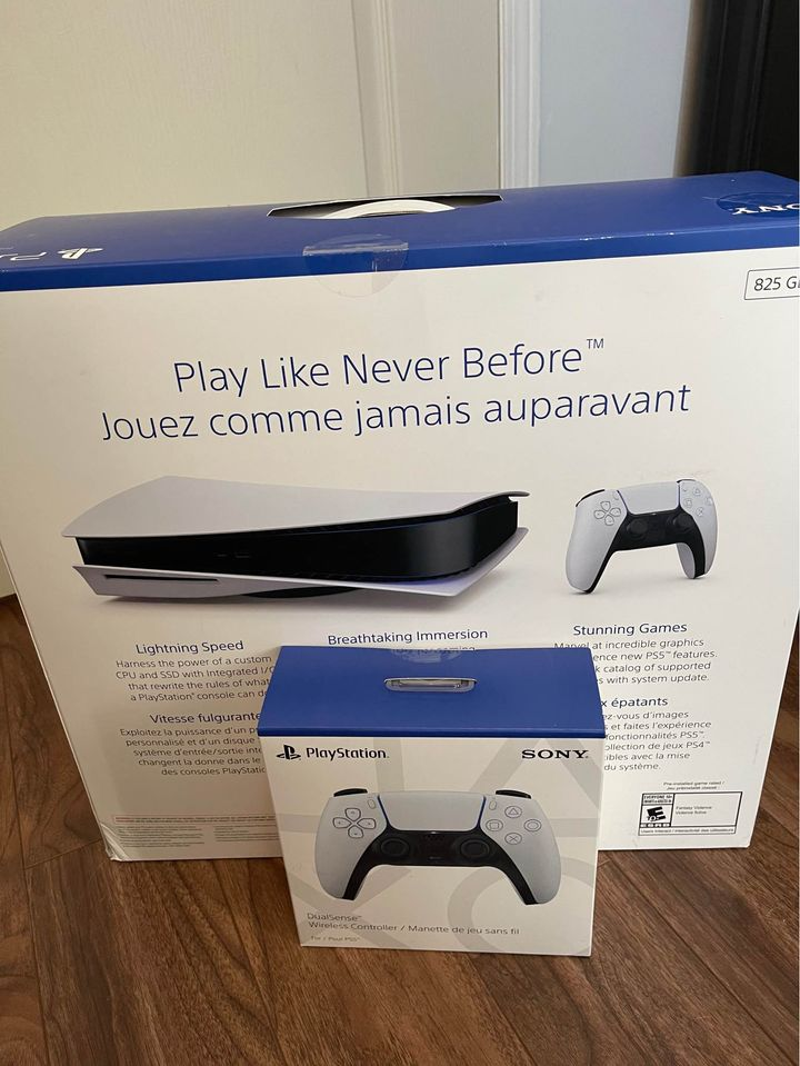 Sony PlayStation 5 PS5 Brand New Sealed