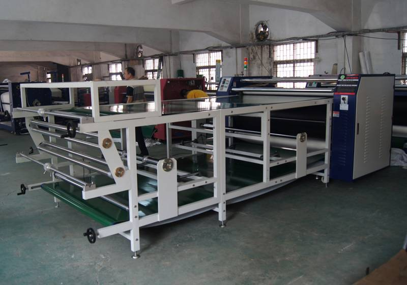 Roller Sublimation T Shirt Heat Press Sticker Transfer T SHIRT Print Machines in Guangdong