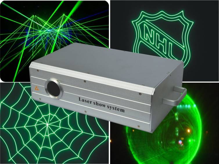 30K Scanner ILDA DMX512 high power animation green laser light
