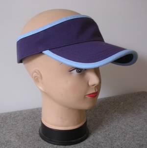 cotton sun visor